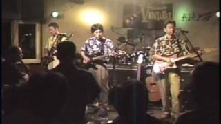 2004年 彦根市松原のライブハウスジャック&ベティでのライブ.
