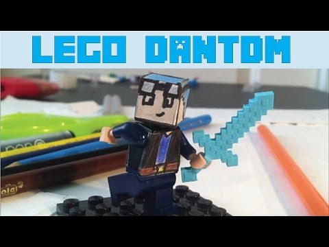 How to make a custom LEGO Dantdm figure (how to...)