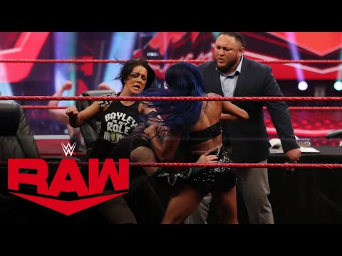 Double contract signing turns chaotic: Raw, June 29, 2020