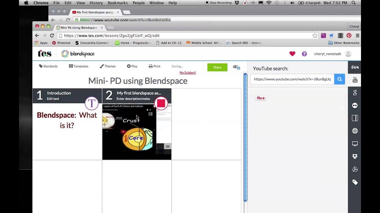 4eafc31114 Mini Pd Using Blendspace - Lessons - Tes Teach
