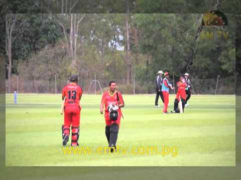 BSP PNG Barramundis Thrash Danube Cricket Club