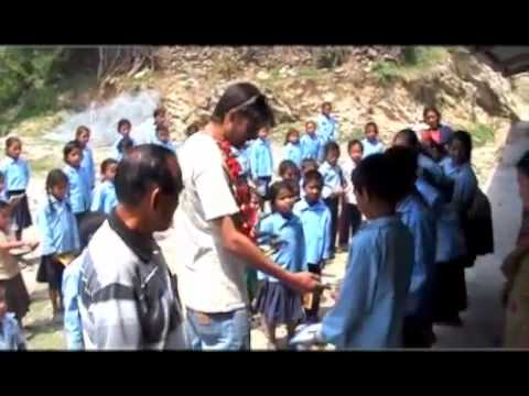 Charity work supporting schools & the underprivileged in Nepal