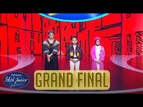 RESULT - GRAND FINAL - Indonesian Idol Junior 2018