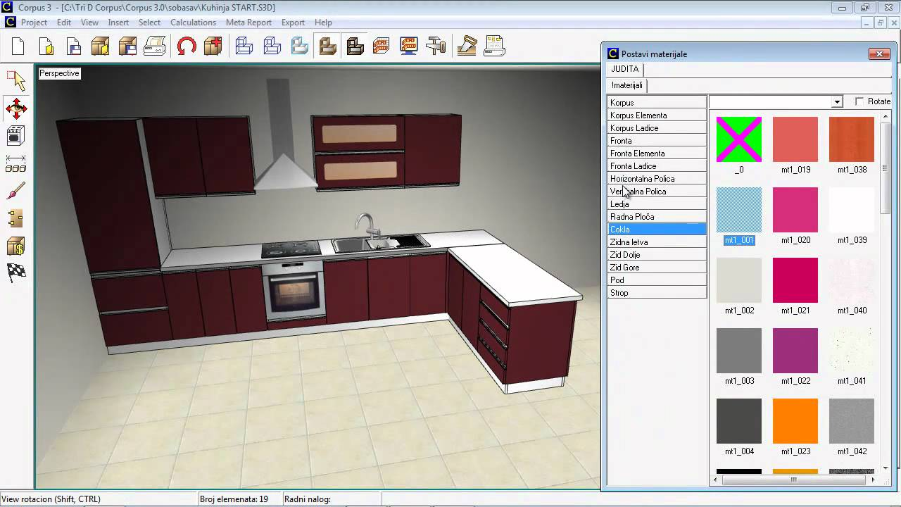 Corpus Kitchen Design Software