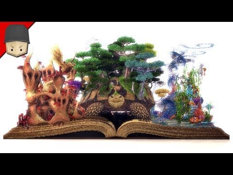 Minecraft - The Most Creative Build Ever?! (Fairy Tale/Fantasy)