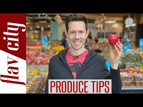 Buying Fruits & Veggies At The Grocery Store - What You Need To Know