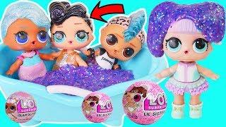 LOL Surprise Splash QUEEN Galaxy Slime Bath Prank on Punk Boi Getting Married Wedding