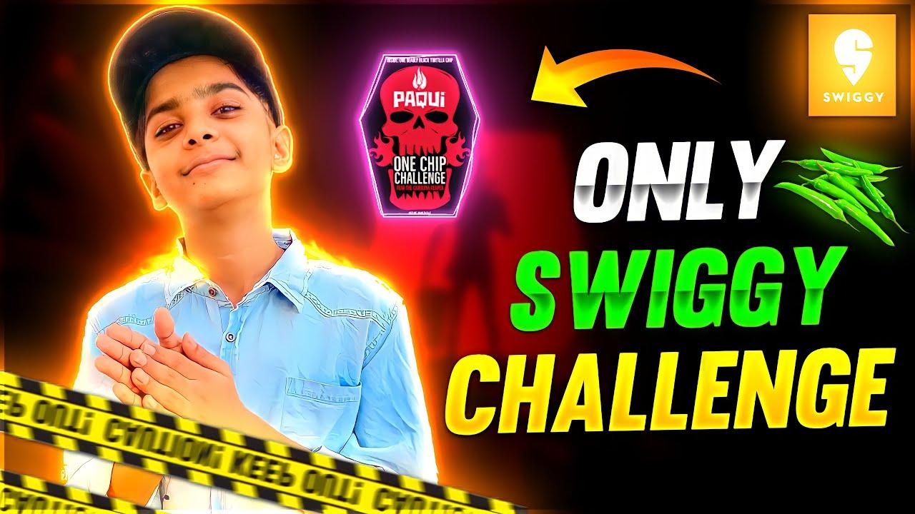 Swiggy Food Order Challenge ❤️🤯 - किसको मिलेगा खाना 🤣 - Adi Vs Babaji - Garena Free Fire