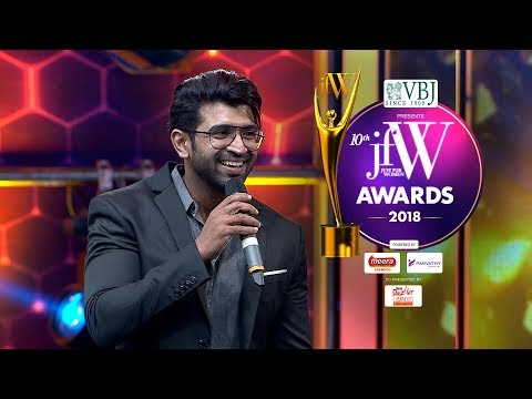 JFW Awards 2018   Simbu always on time to sets: Arun Vijay  