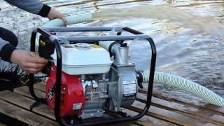 MOTOPOMPA XGP test motopompy pompa spalinowa pompy spalinowej