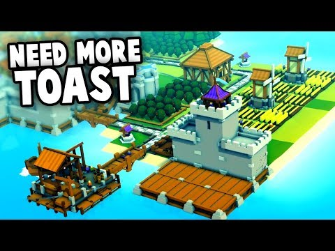 The KINGDOM Needs more TOAST!  Architectural Wonders and Secret Forts! (Kingdoms and Castles)