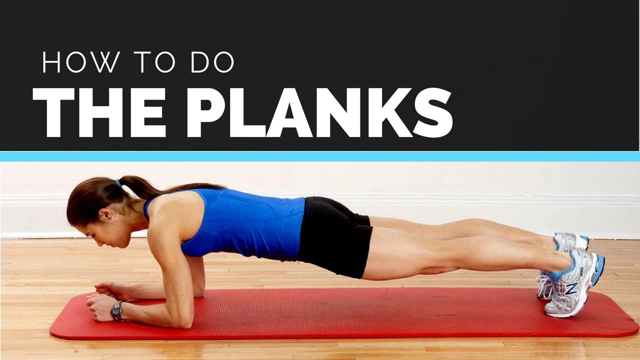 How to do planks to lose belly fat