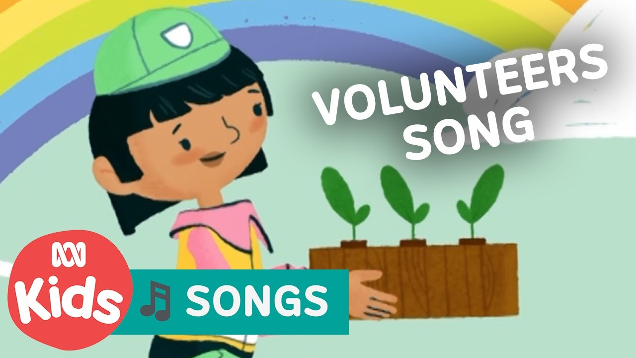 Everyday Helpers: Volunteers Song with Teeny Tiny Stevies | Play School