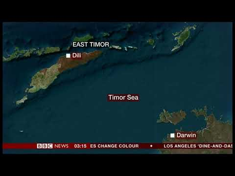 Offshore fields threaten to fail (East Timor) - BBC News - 2