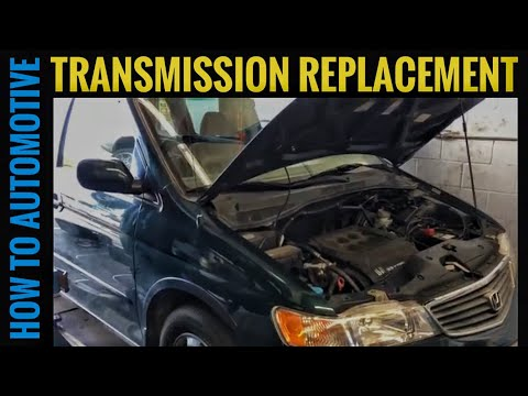 How to Replace the Transmission on a 2001 Honda Odyssey