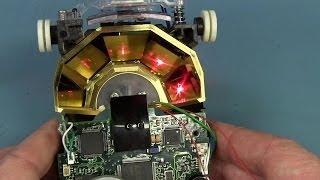 EEVblog #637 - Omni Directional Laser Barcode Scanner Teardown