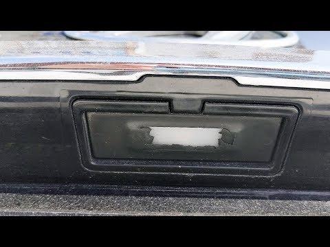 Ремонтируем кнопку багажника Hyundai Solaris