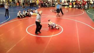 95lbs Anthony Carman vs Caleb Haynes West Virginia State Championship