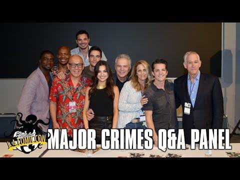 TTL Nerd   Major Crimes Q&A Panel at Stan Lee's LA Comic Con 2017