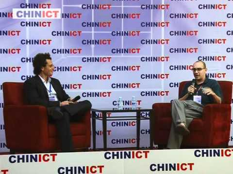 Investor & blogger Dave Mc Clure speaks at CHINICT.