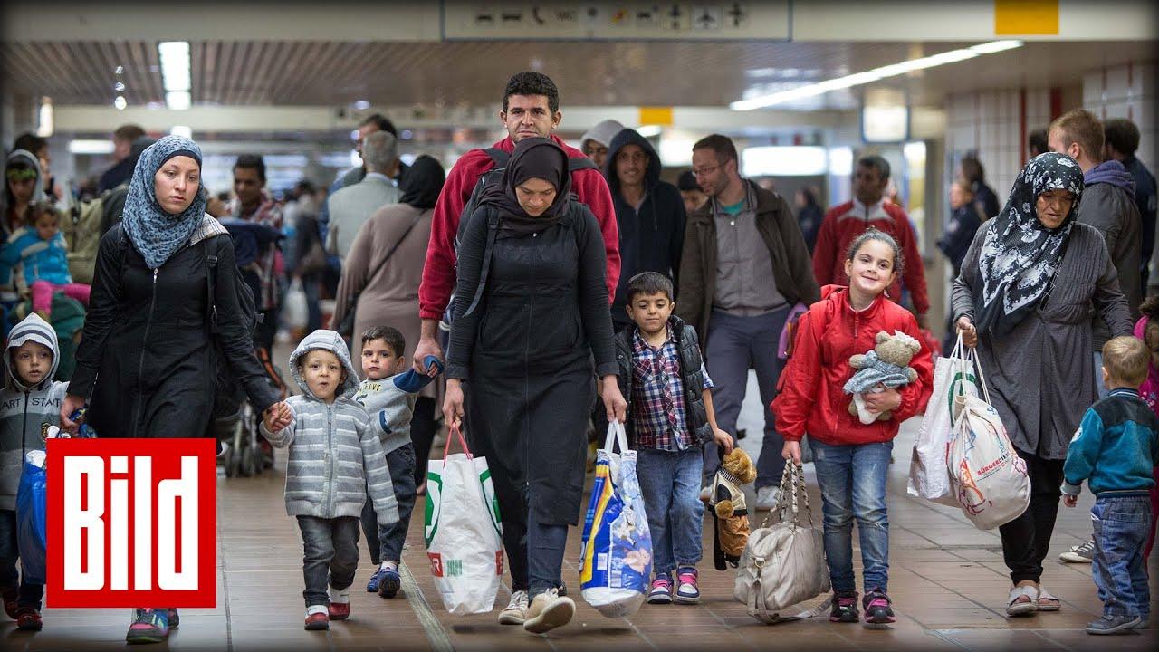 Flüchtlinge Randale