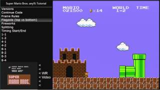 [Tutorial] Super Mario Bros. any%