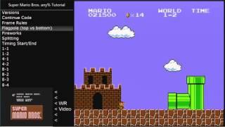 tutorial Super Mario Bros. any