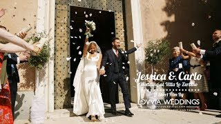 Wedding video Villa Zerbino Genova • lovviaweddings.com