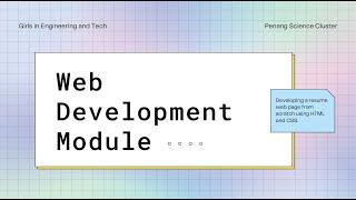 Code Festival 2021 - HTML Intermediate workshop