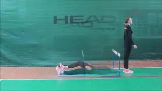 Обучение технике прыжка в высоту с прямого разбега в 1-4 классе