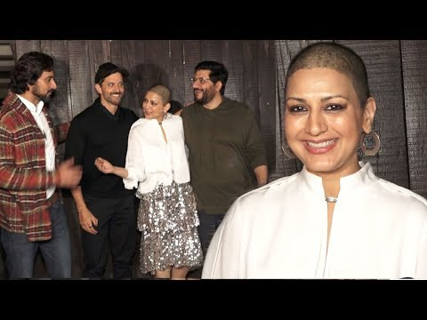 Sonali Bendre Smiles With Happiness Celebrating FIRST New Year With Hrithik & Family after Recovery