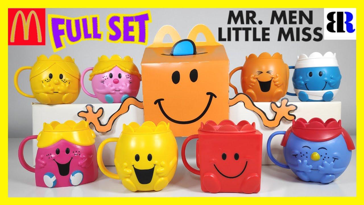 McDonald's Happy Meal Toy Character Mr Men Little Miss 2021-Combine Postage