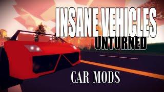 INSANE VEHICLES - KikET Vehicles - Mod Showcase - Unturned 3.11.9.0