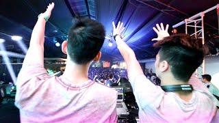 Nimbia & SlimV live at NYT Party 2014 Steve Aoki (FULL HD SET)