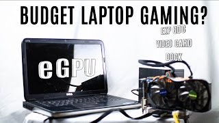 EXP GDC BEAST Gaming Laptop ကို (eGPU Set-အထိ)