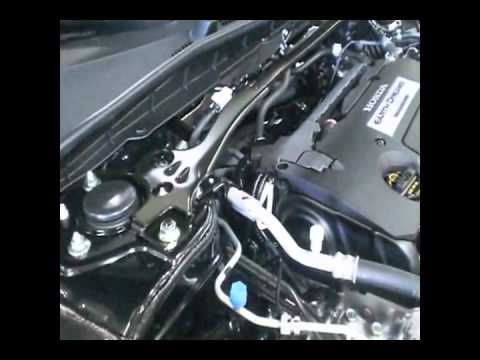 Работа мотора хонда аккорд К20Z2