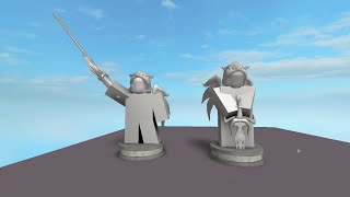 [Roblox] How to Build a Statue tutorial (Super Outdated)