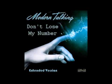 Modern Talking - Don't Lose My Number Extended Version (re-cut by Manaev)