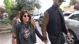 Isa Pantoja sale de su nueva operación estética arropada por Asraf