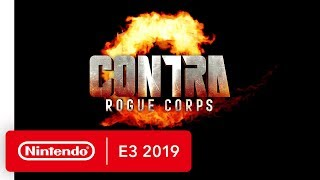 CONTRA ROGUE CORPS - Nintendo Switch Trailer - Nintendo E3 2019
