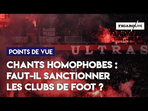 Chants homophobes : faut-il sanctionner les clubs de foot ?