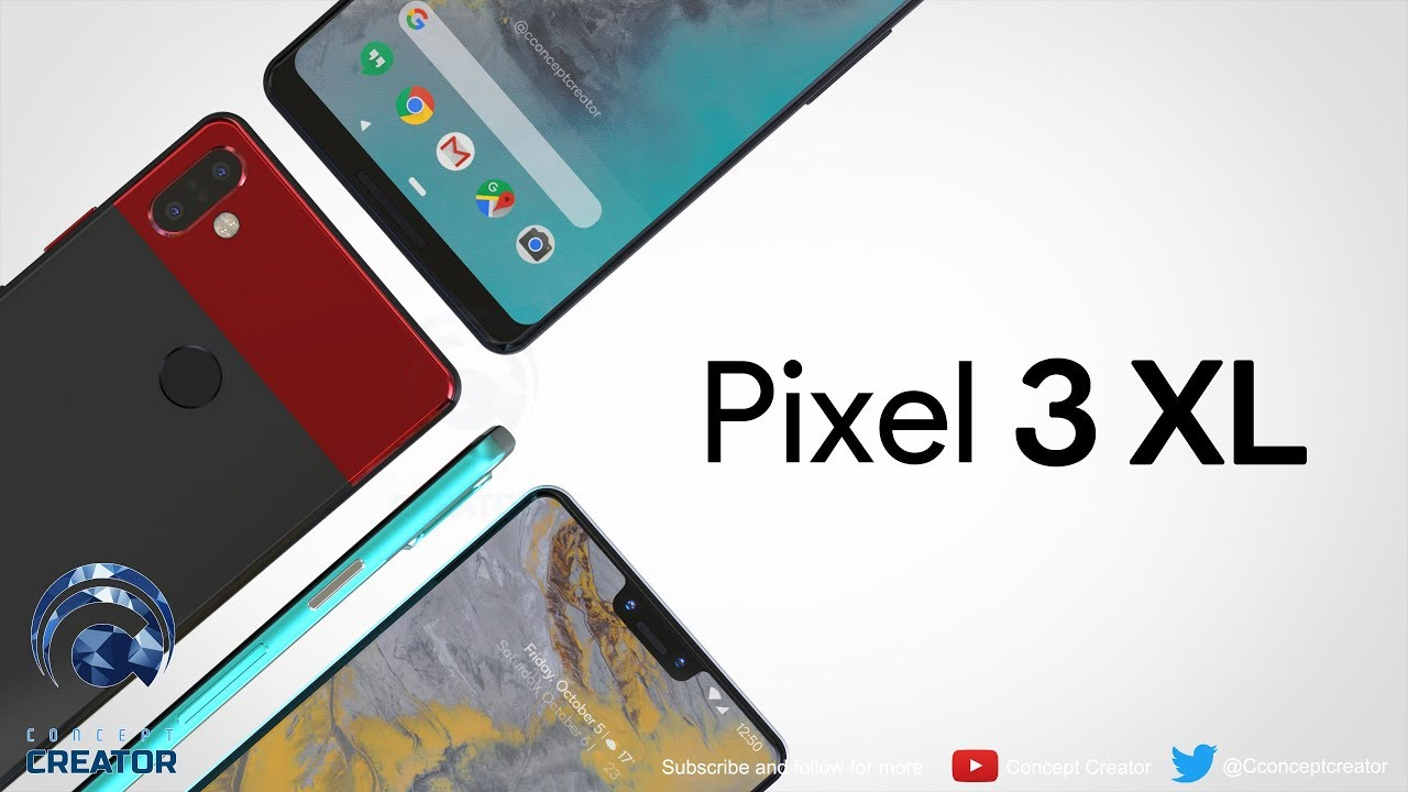 Google Pixel 3 XL introduction | Concept Creator