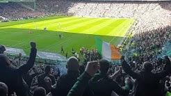 Celtic Fans go mental after Eddy scores | Celtic vs The Rangers