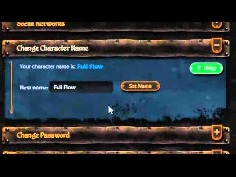 runescape how to change your name