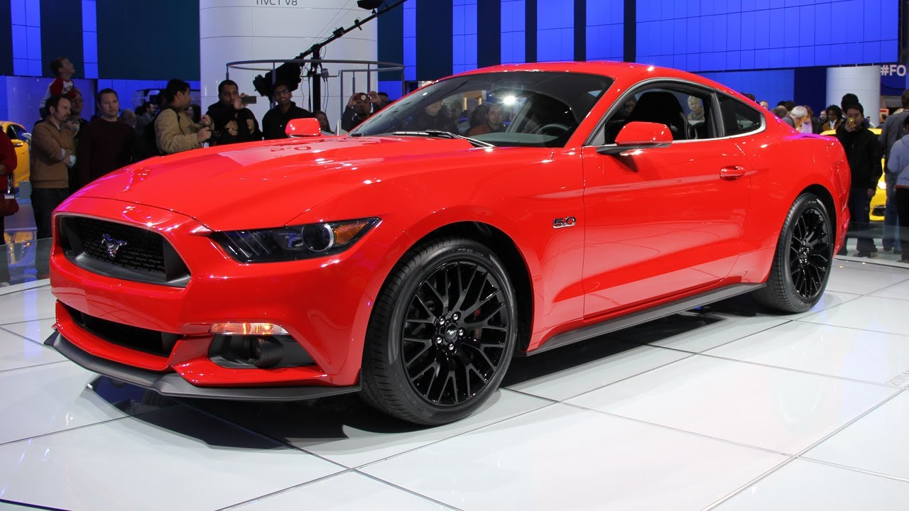 2015 Ford Mustang GT - new sport car