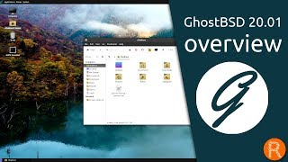 GhostBSD 20.01 overview | A simple, elegant desktop BSD Operating System.