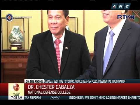 Duterte gains momentum after Japan, China visits: analyst (2)