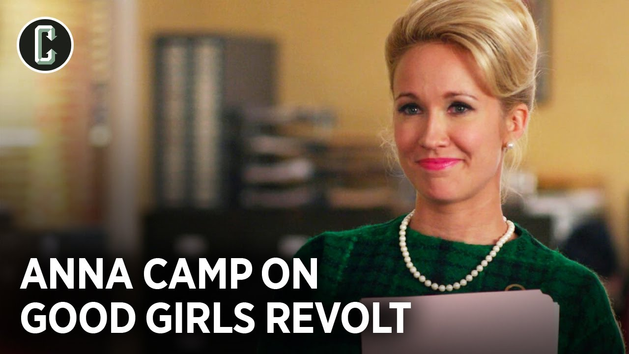 Download Anna Camp on Good Girls Revolt's Cancelation and Lasting Impression