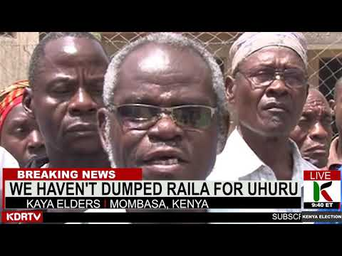 KAYA ELDERS CURSE NIGHTLY MEETING WITH UHURU KENYATTA | KENYA NEWS