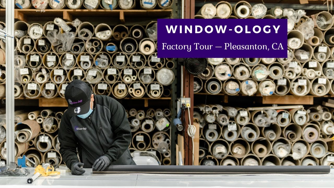 Take a Tour of the Window-ology Factory and Warehouse